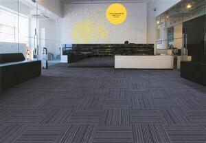 广州立白中心办公室方块地毯工程案例