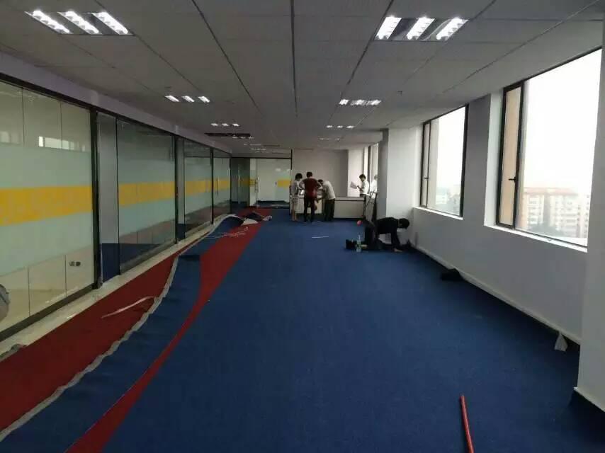 广州盛美大厦办公室满铺地毯工程案例